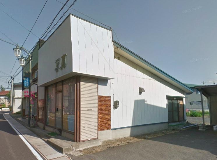 九戸村役場そばの、旧写真店兼住宅