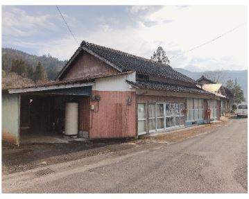 宮崎県美郷町|店舗・事務所・車庫・離れ付き物件写真