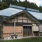 福島県三島町・空き家