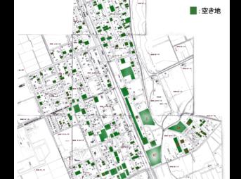 旭川市西神楽 空き地図